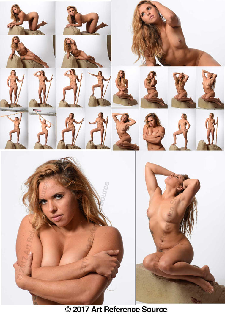 Stock:  New Model Michelle 20 Fantasy Nudes by ArtReferenceSource