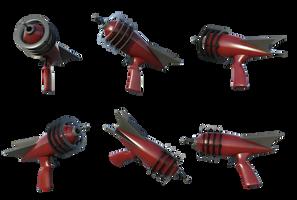 Free Stock PNG:  Retro Ray Gun