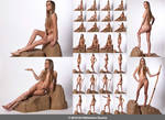 New Model Ariel: 28 Fantasy Nude Poses by ArtReferenceSource