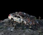 Free PNG:  Urban Ruins Police Car