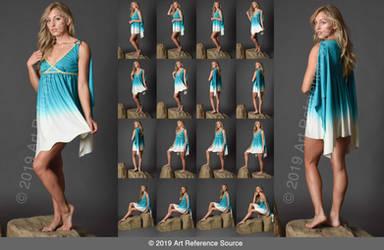 Stock:  Mikayla in Roman Dress