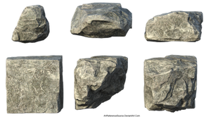 Free Stock PNG:  Stones