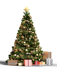 Free Stock PNG:  Christmas Tree by ArtReferenceSource