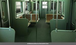 Free stock PNG:  Subway Car Interior