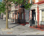 Stock:  NYC Residential Street
