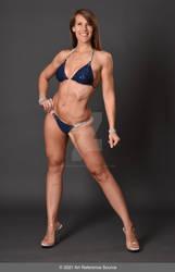 Stock:  Tiffany Body Building Pose