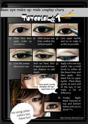 Basic male eye make up Tutorial 01 by ikumi00