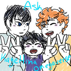 Ask Kagehina Omegaverse by TidalWaveKitty