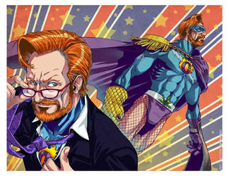 - FLAMING GINGER of JUSTICE - by DreamworldStudio