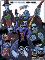 Blue Meanies by DrFaustusAU