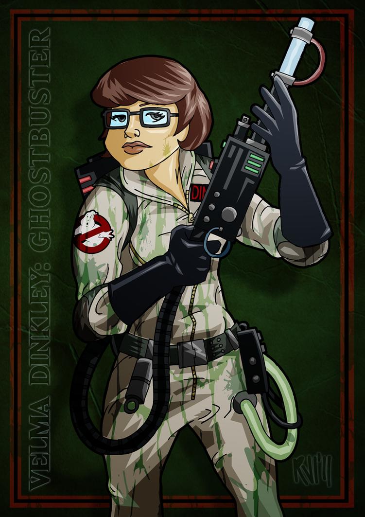 Velma Dinkley: Ghostbuster by DrFaustusAU