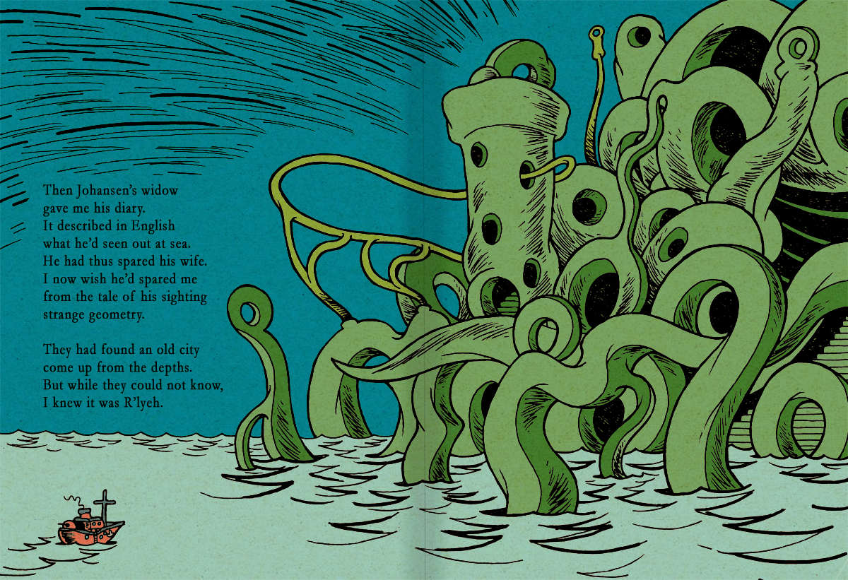 The Call of Cthulhu Page 34-35