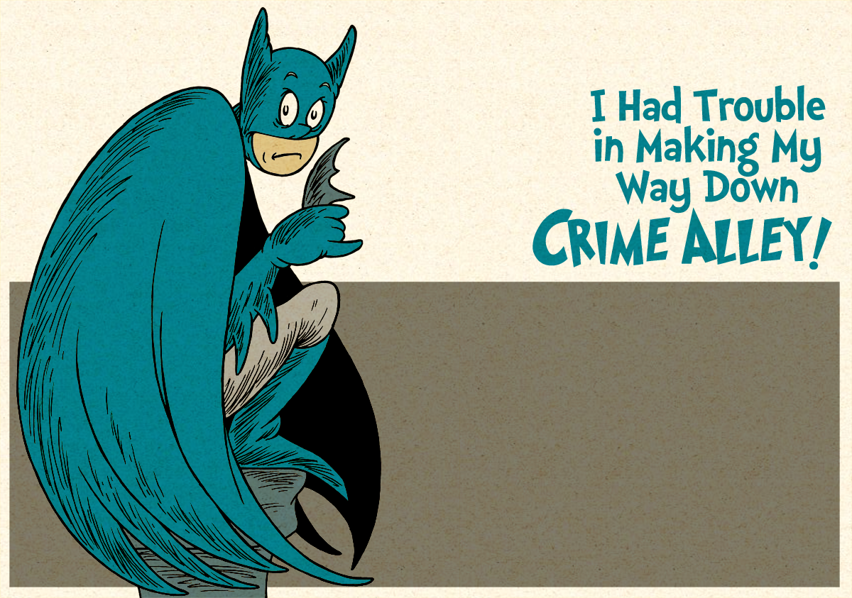 I Had Trouble in Making My Way Down Crime Alley
