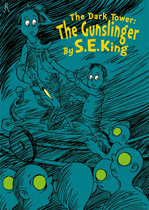 The Dark Tower: The Gunslinger by DrFaustusAU