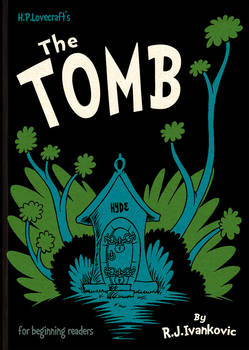 HPL's The Tomb (for beginning readers) - Cover