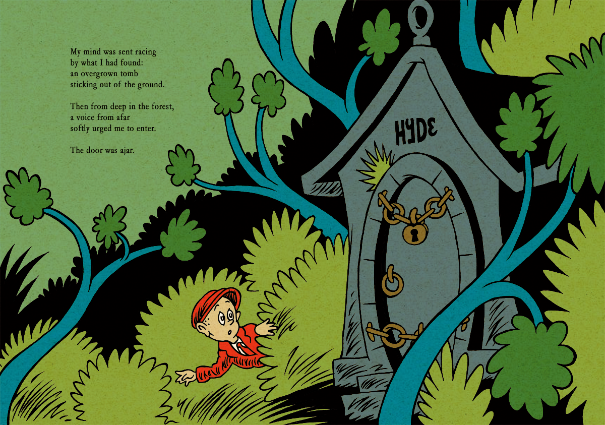 HPL's The Tomb (for beginning readers) - P08-09