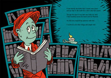 HPL's The Tomb (for beginning readers) - P18-19