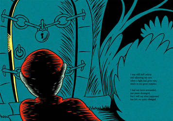 HPL's The Tomb (for beginning readers) - P24-25