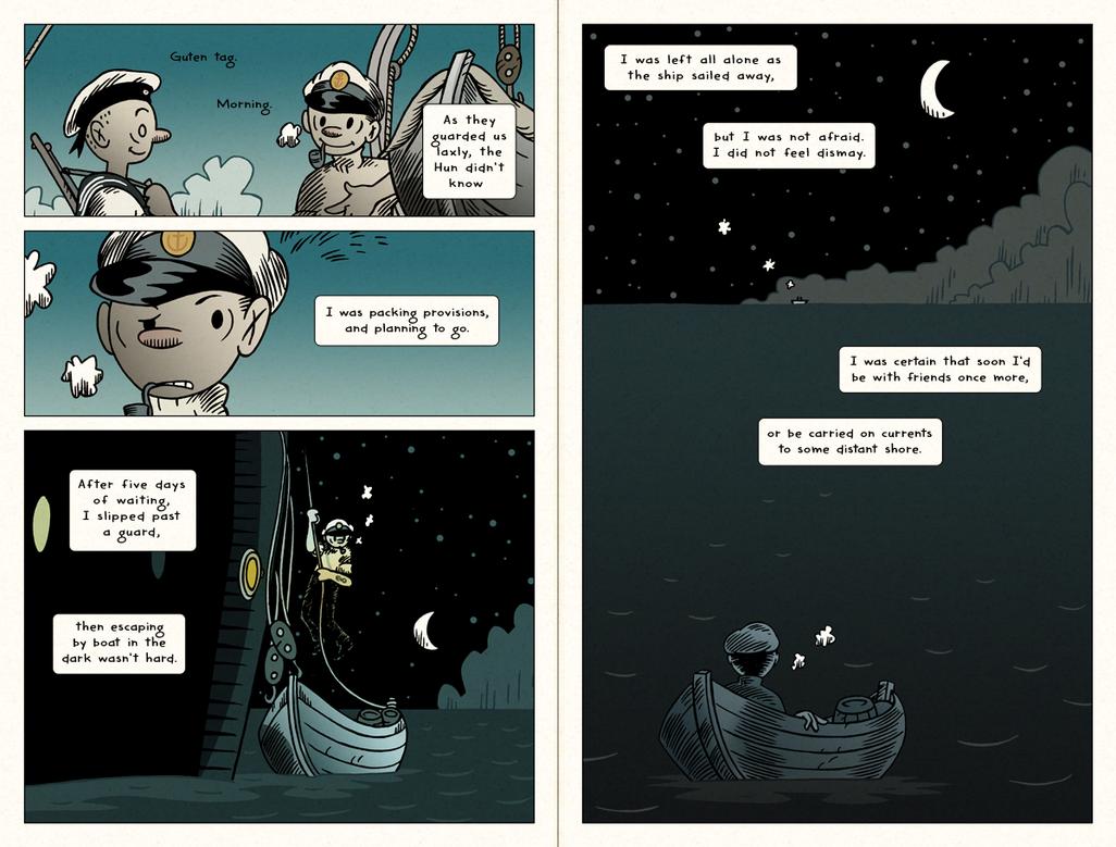HPL's Dagon (for beginning readers) - P04-05 by DrFaustusAU