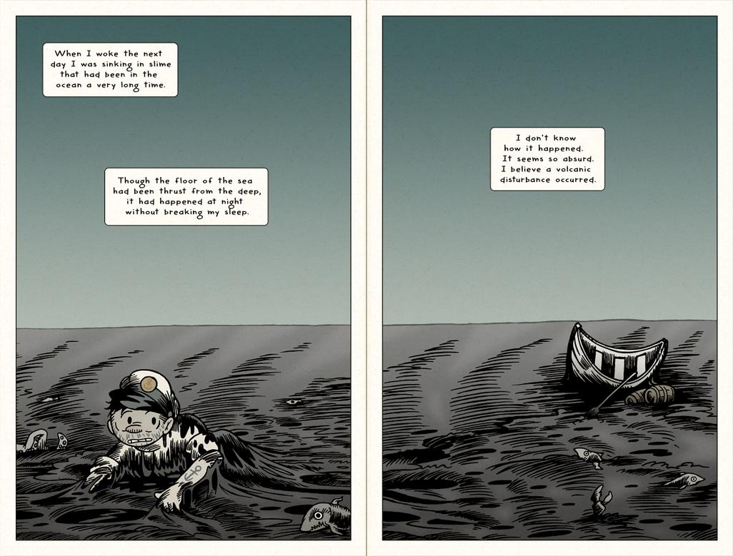 HPL's Dagon (for beginning readers) - P08-09 by DrFaustusAU