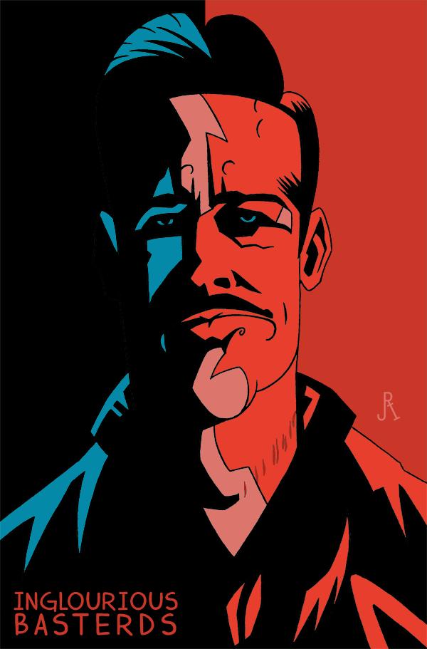 Lt. Aldo Raine by DrFaustusAU