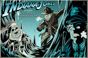 Indiana Jones and the Kingdom of the Kringle Skull by DrFaustusAU