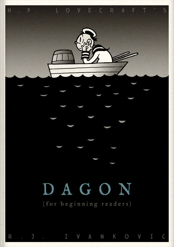 HPL's Dagon (for beginning readers) - Cover