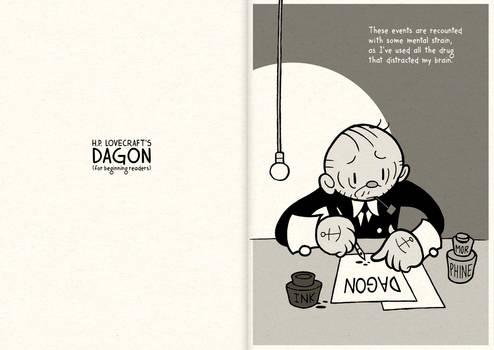 HPL's Dagon (for beginning readers) - P00-01