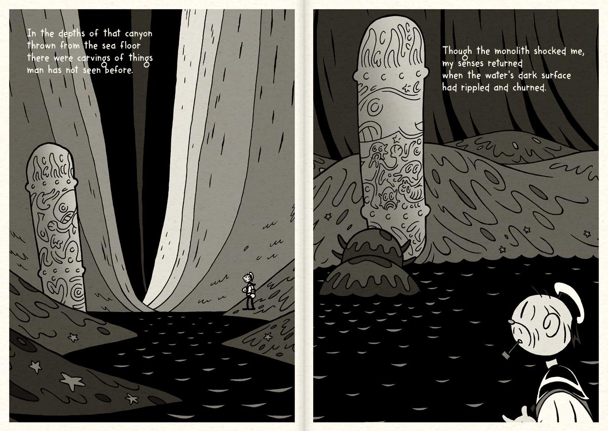 HPL's Dagon (for beginning readers) - P20-21 by DrFaustusAU
