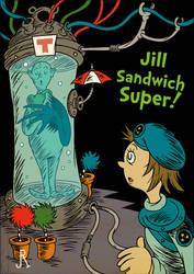 Jill Sandwich Super! by DrFaustusAU