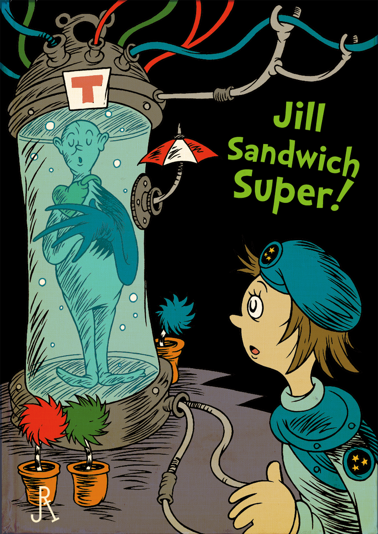 Jill Sandwich Super! by DrFaustusAU