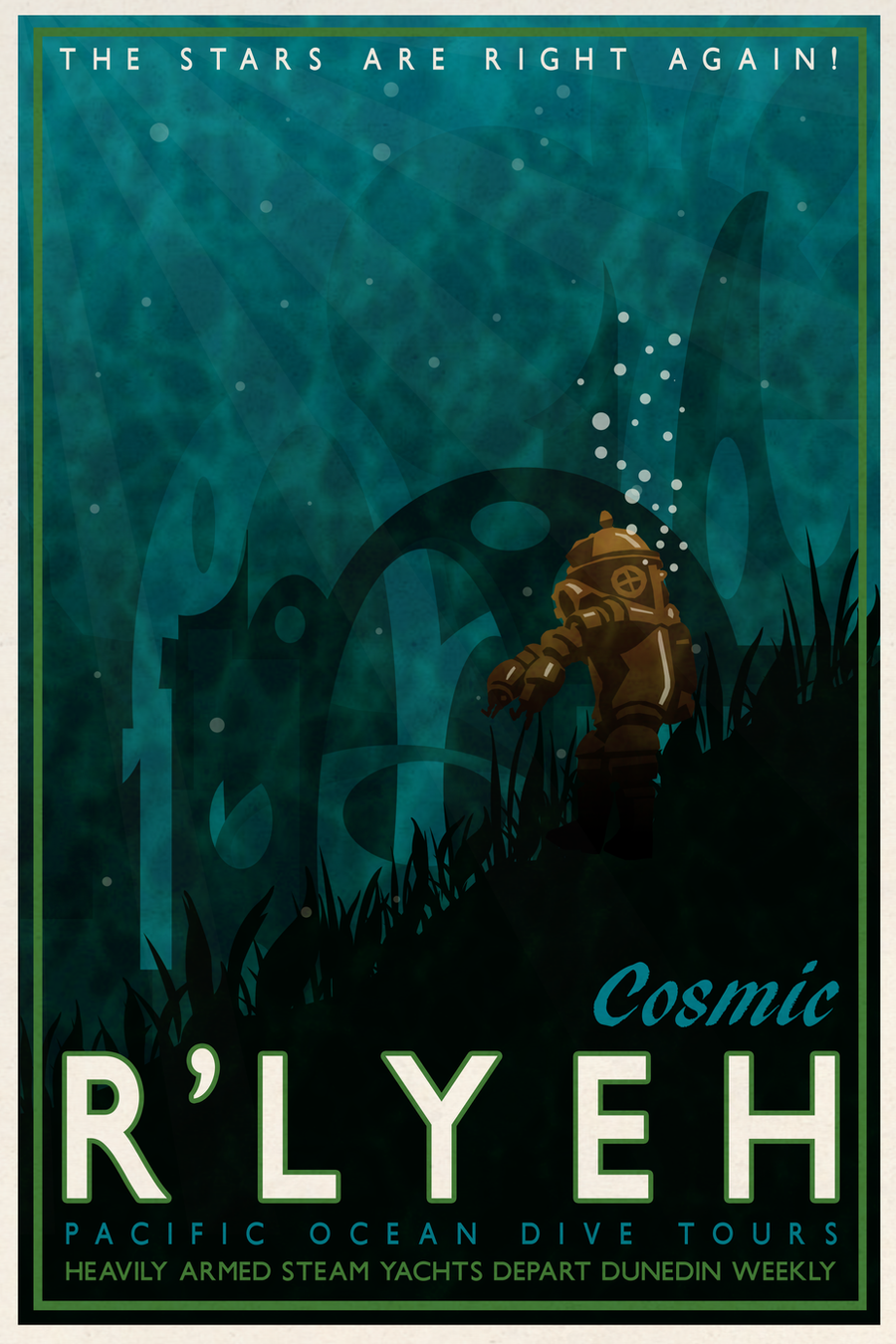 Cosmic R'lyeh by DrFaustusAU