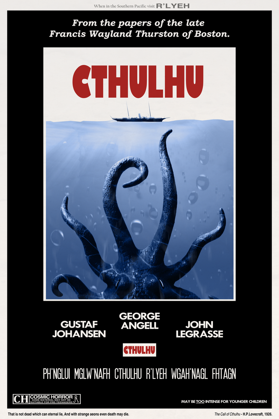 Cthulhu by DrFaustusAU
