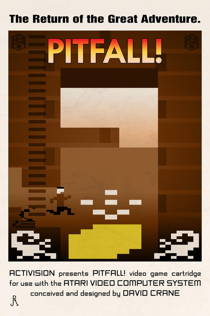 Raiders of the Lost Pitfall! by DrFaustusAU