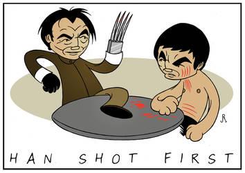 Han Shot First by DrFaustusAU
