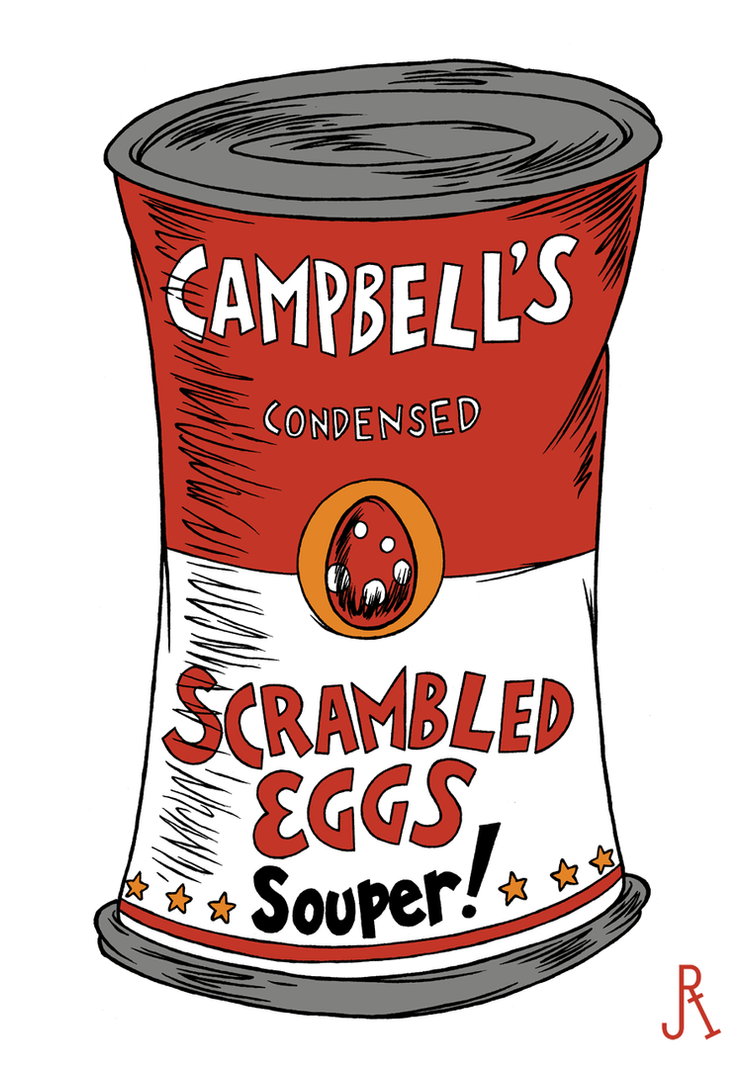 Campbell's Condensed Scrambled Eggs Souper! by DrFaustusAU