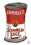 Campbell's Condensed Scrambled Eggs Souper!