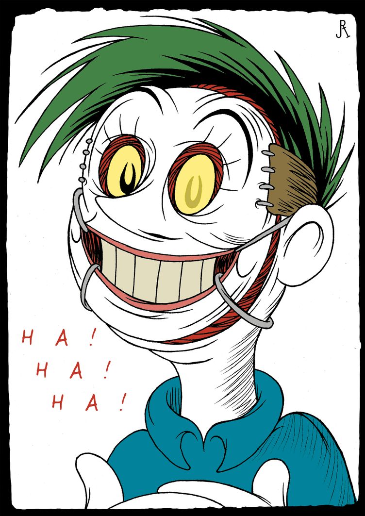 HA! HA! HA! by DrFaustusAU