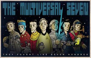 The Multiversal Seven by DrFaustusAU