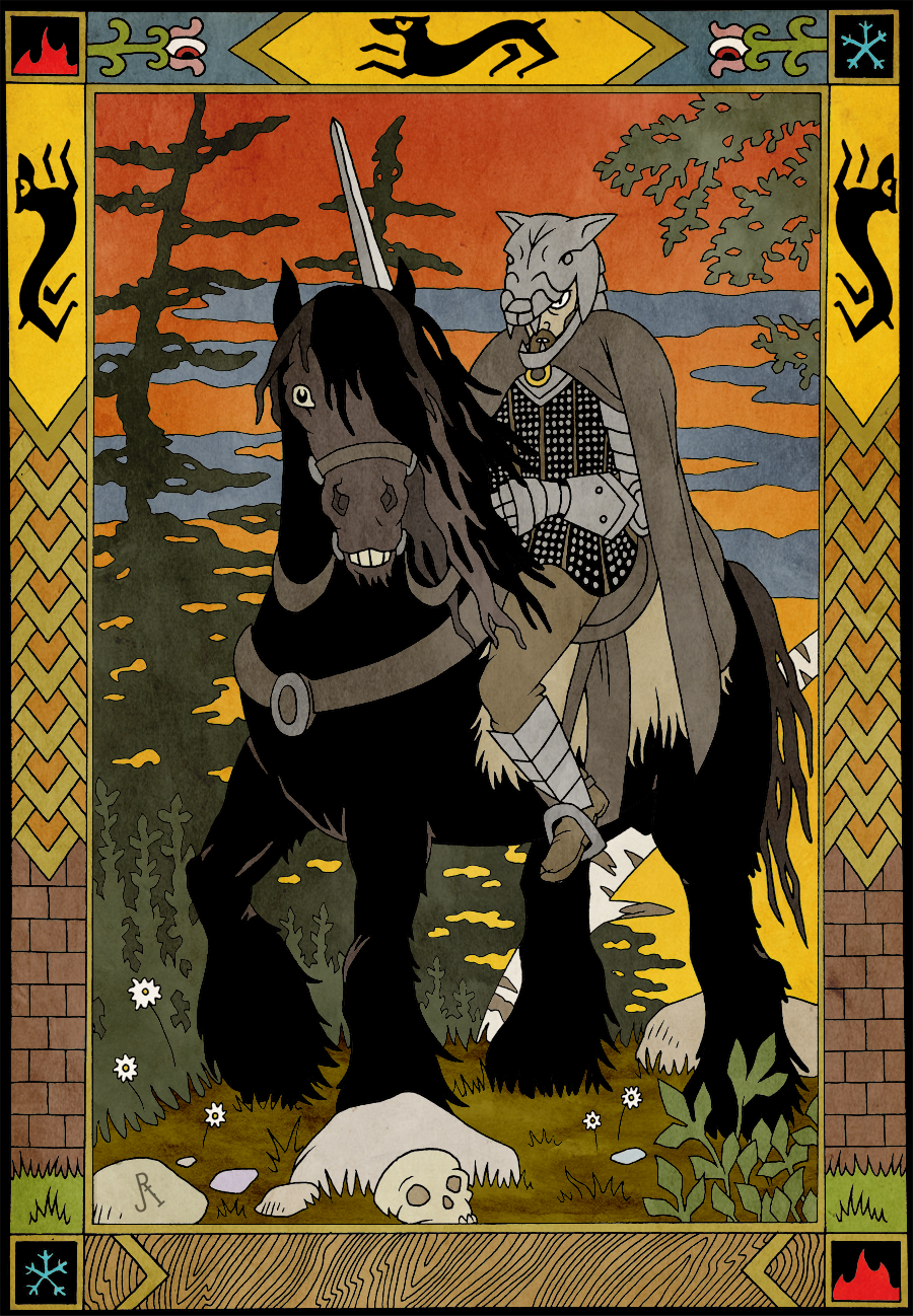 Sandor Clegane by DrFaustusAU