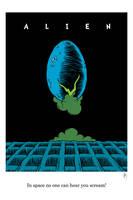 Alien One Sheet v2 by DrFaustusAU