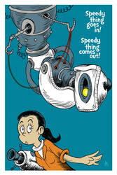 Speedy thing goes in! Speedy thing comes out! by DrFaustusAU