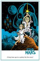 Star Wars One Sheet by DrFaustusAU
