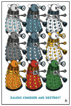 Daleks Conquer And Destroy!