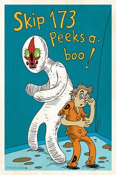 Skip 173 Peeks-a-boo!