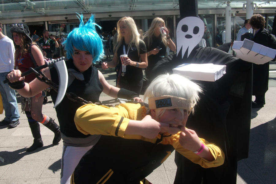 FIRST...CONVENTION...EVAR The_soul_eater_gang_by_thejammyllama-d51e8mr