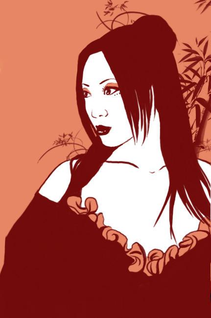 YAYA HAN - GEISHA by Pimpstress22