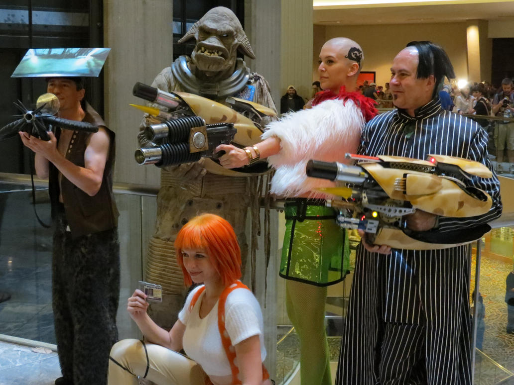 The Fifth Element by scoldingspirit84