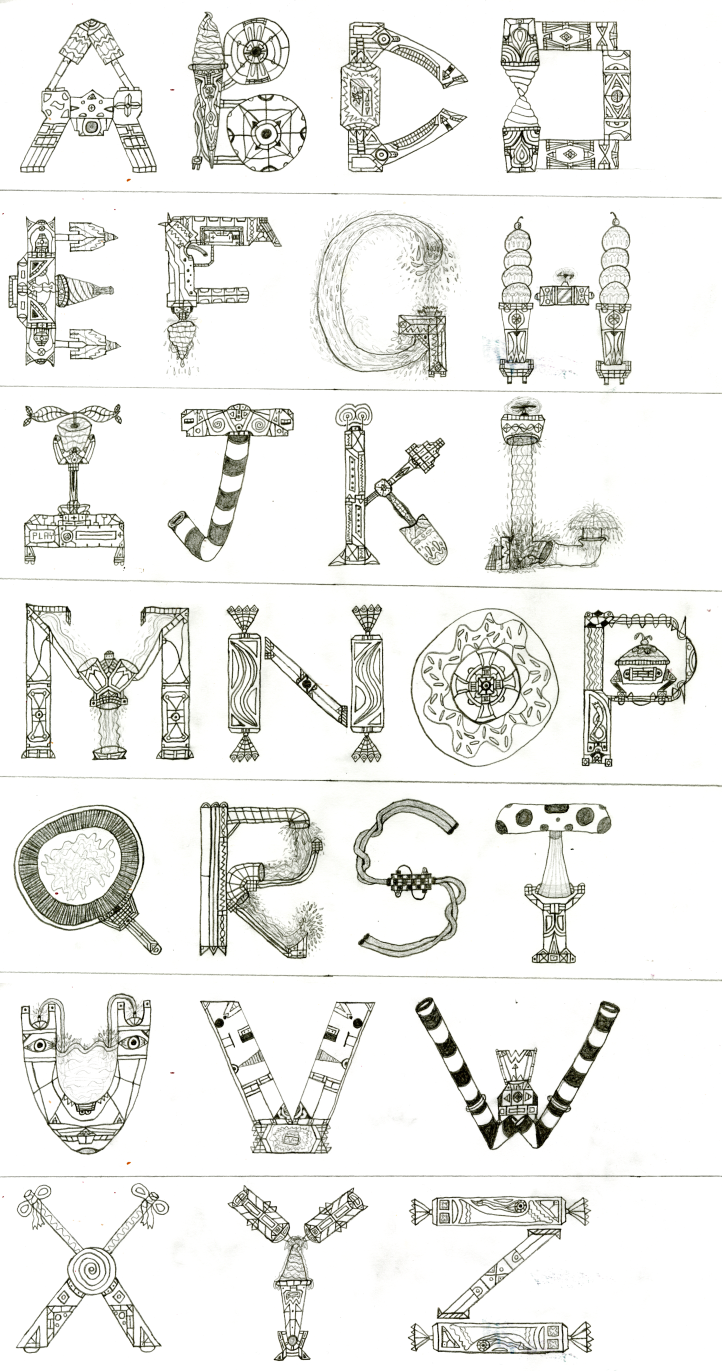 Art #19 -- Typography: Tasty Technology by Naean