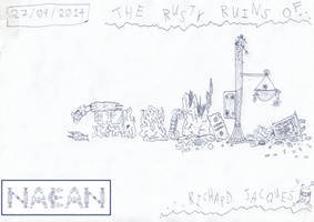 Art #58 -- The Rusty Ruins Of Richard Jacques by Naean